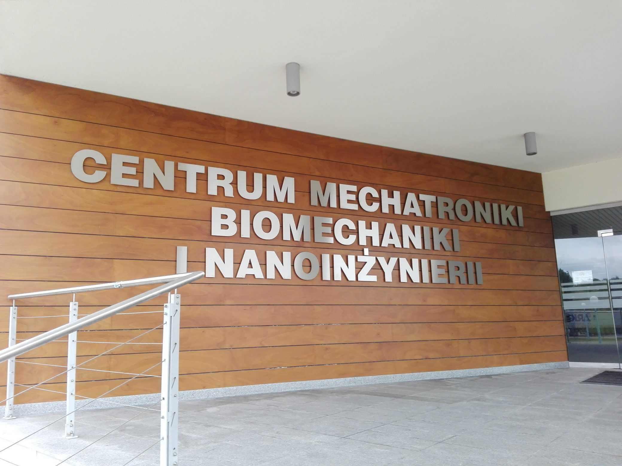 Centrum Mechatroniki Biomechaniki i Nanoinżynierii PUT w Poznaniu