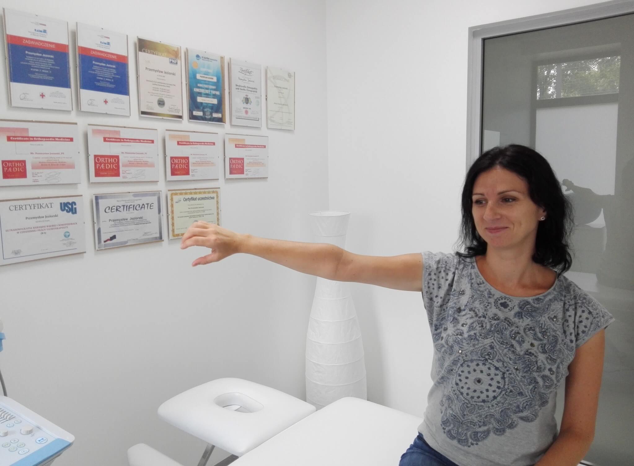 Staw Barkowy test mięsień Nadgrzebieniowy