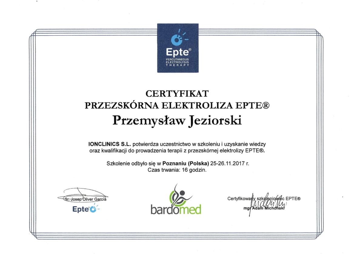 Elektroliza przezskórna Poznań